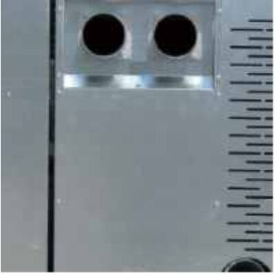 CentroPelet ZS10 meleg levegő csatlakozások