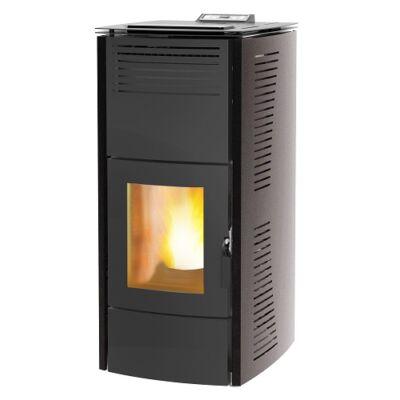 Centrometal CentroPelet ZV16 (16,1 kW) meleg levegős és vízteres pellet kandalló, kályha (szürke)