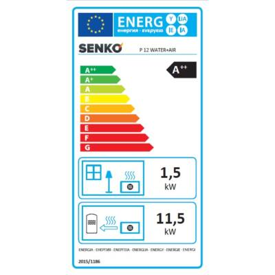 Energia cimke - SENKO P 12 WATER + AIR