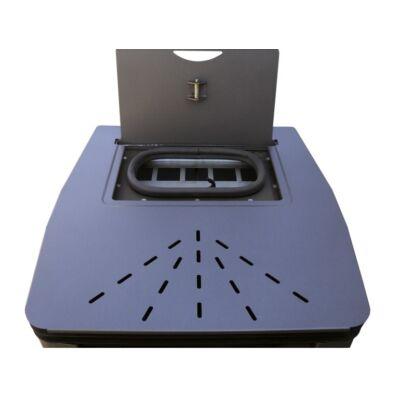 SENKO P 12 WATER+AIR - pellet tartály nyílás