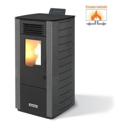 Centrometal CentroPelet Z12 C elcsatornázható meleg levegős pelletkályha (szürke)