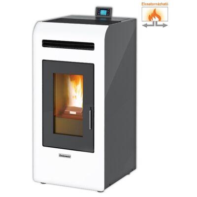 Centrometal CentroPelet Z14 C elcsatornázható meleg levegős pelletkályha (fehér)