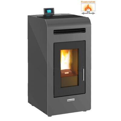Centrometal CentroPelet Z14 C elcsatornázható meleglevegős pelletkályha (szürke)
