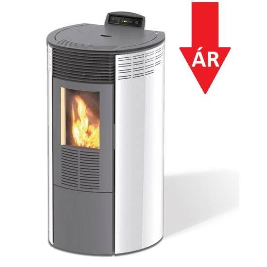 Centrometal CentroPelet ZR12 meleg levegős pelletkályha (fehér)
