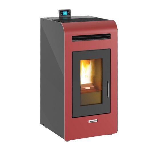 Centrometal CentroPelet Z14 meleg levegős pelletkályha (bordó)
