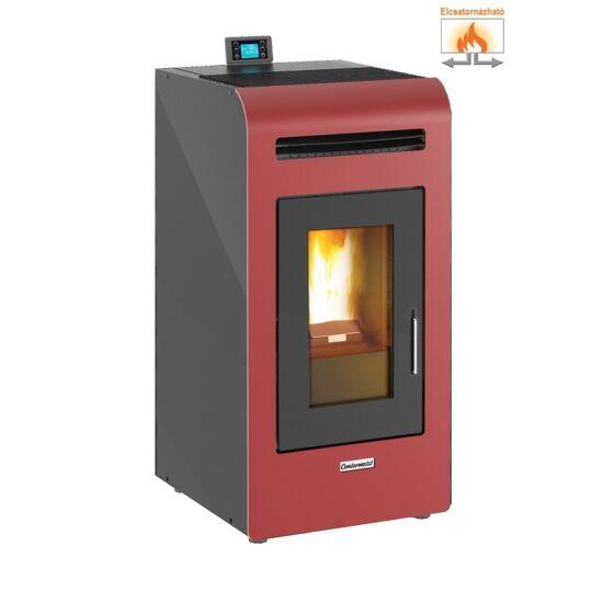 Centrometal CentroPelet Z16C meleg levegős pelletkályha (bordó)