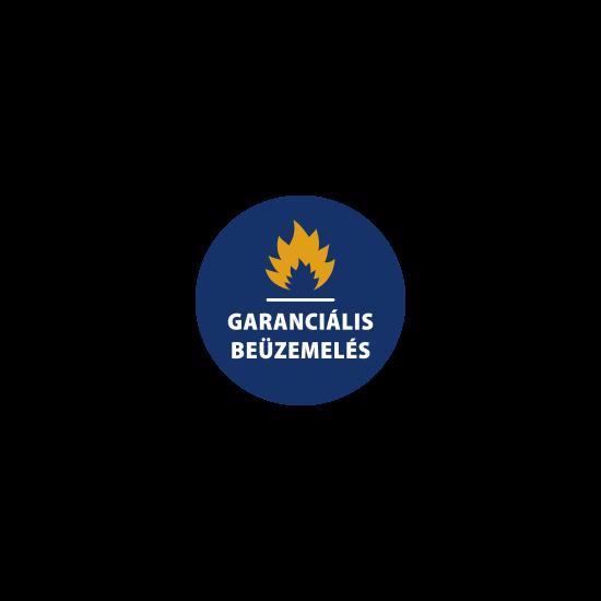 Vízteres pellet kazán - garanciális beüzemelés